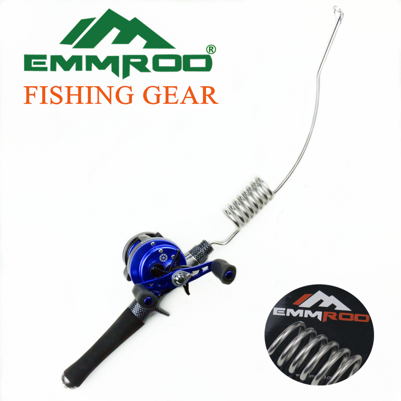 2016 new emmrod stainless spincasting rod combos for Cheap fishing rods and reels combo