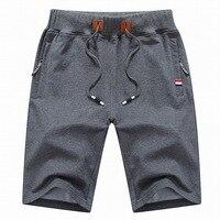 2019 новые модные мужские шорты 4XL летние мужские s Пляжные Шорты хлопковые повседневные мужские шорты homme брендовая одежда