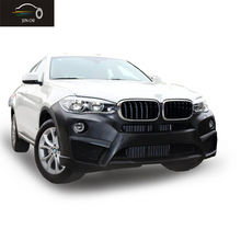 X6 Bumper Body Kit A Style Including Front Bumper Rear Bumper Side Skirts Car Styling PP Material Fit for BMW X6  2015 2016