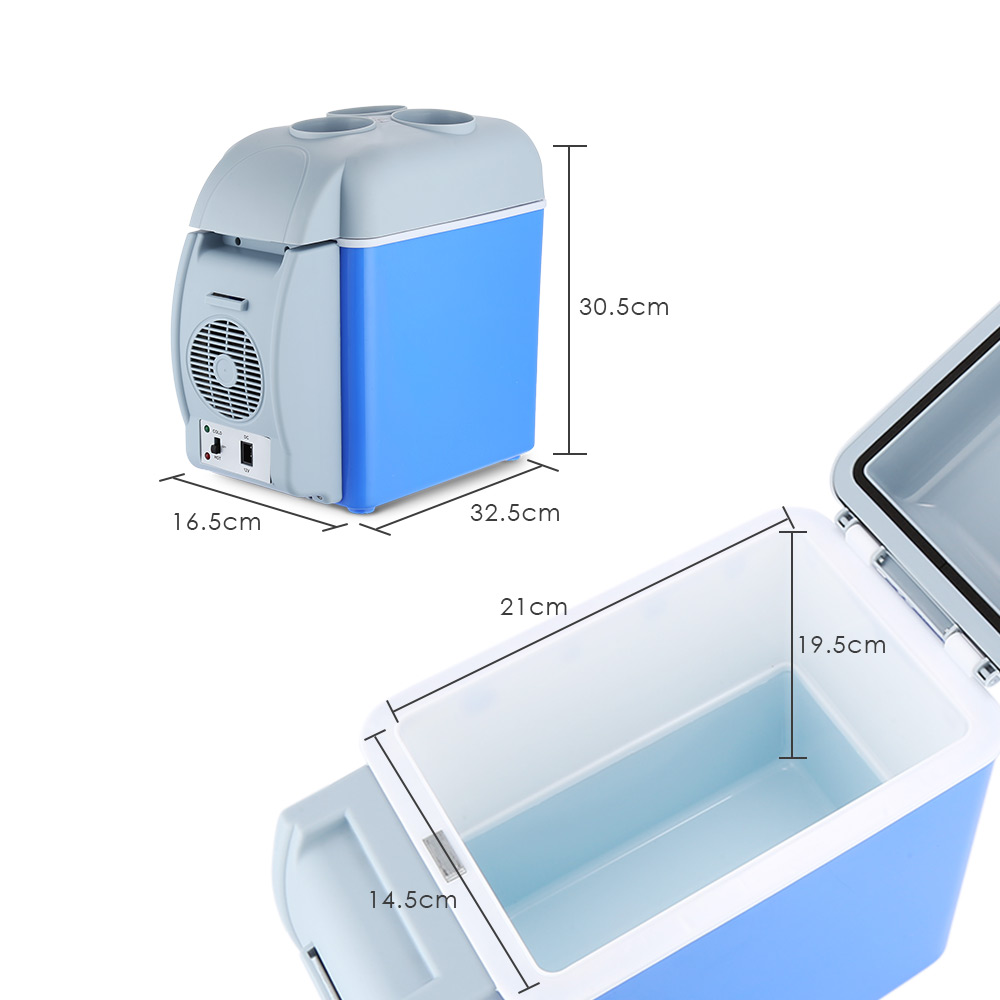 12V 38W Mini Portable Car Refrigerator & Food Warmer