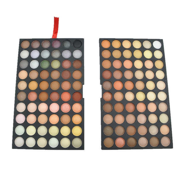 Pro 120 Full Color Matte Eyeshadow Palette Matte Shimmer Neutral Eye Shadow Makeup Shadow Cosmetic Make Up Palette Set