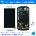 "100% probado 4.8 ""lcd replcement para samsung galaxy s3 neo i9300i i9301 i9301i i9308i touch pantalla digitalizador asamblea con marco"