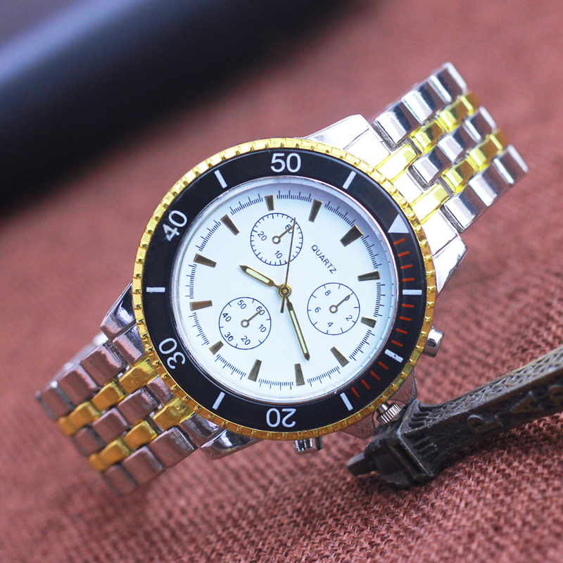 2018 men stainless steel sliver gold luminous hands wristwatches gentlemen business dress quartz watches old men father gifts italians gentlemen пиджак