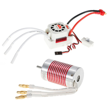 Platinum Set Waterproof 2845 3800KV Brushless Motor with 45A ESC for 1 14 1 12 RC