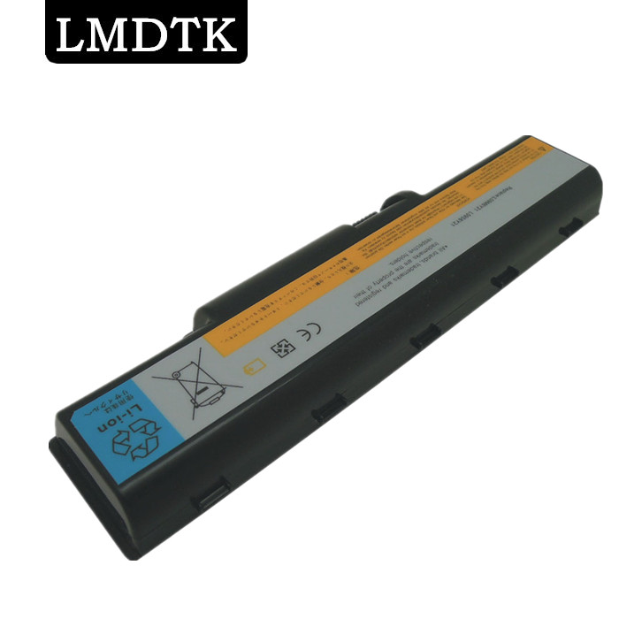 LMDTK LAPTOP BATTERY FOR LENOVO Ideapad B450 B450A B450L Series L09M6Y21 LO9S6Y21 BATTERY 6 Cells Free Shipping