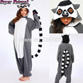 Good Quality Ring-tailed Lemur Catta Cat Christmas Pajamas Animal Winter Women Men Onesies Adults Halloween Cosplay Gift Costume