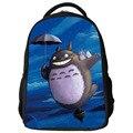 16 polegada Anime meu vizinho Totoro mochila escolar saco