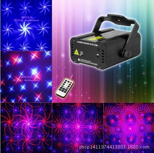 Red and blue remote laser light bar KTV laser light stage lights flash lamp цена 2017