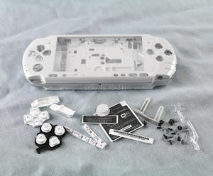 Image 4 - OCGAME מעטפת משחק קונסולת החלפת מלא שיכון כיסוי מקרה עם כפתורים ערכת עבור PSP3000 PSP 3000