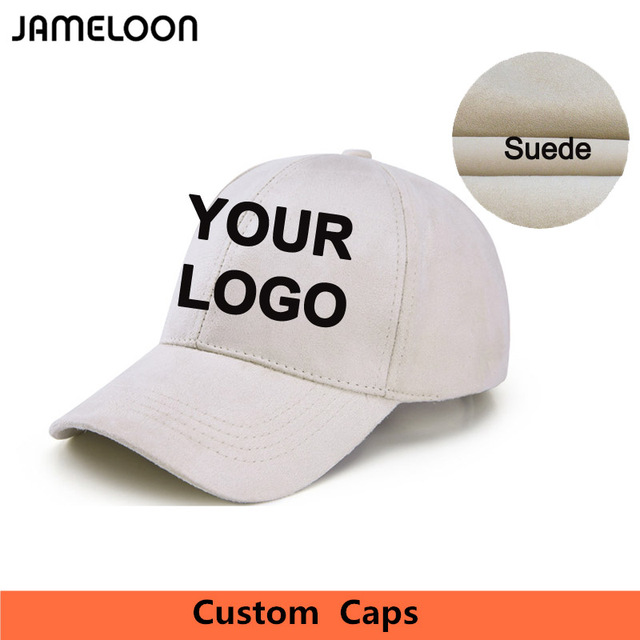 LOGO Custom Fashion Suede Caps Snap back Caps Customized Own Designend  Baseball Hat Embroidery Printing Adult Godd Quality 0b8491967a0