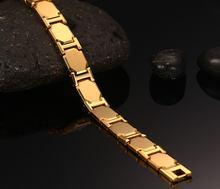 Модные ювелирные изделия золотого цвета из нержавеющей стали