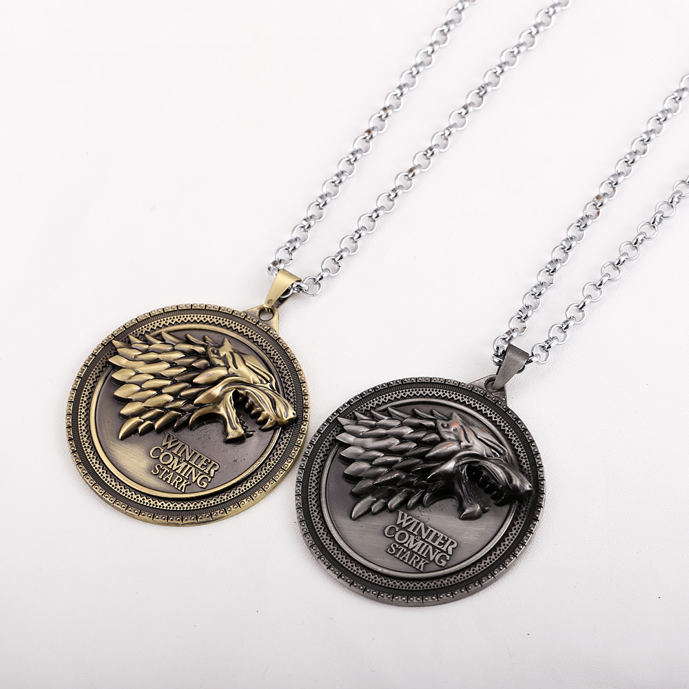 Song of Ice and Fire Baratheon Stark Arryn Tully Martel Game of Thrones Necklet House Greyjoy Christmas Gift Necklace