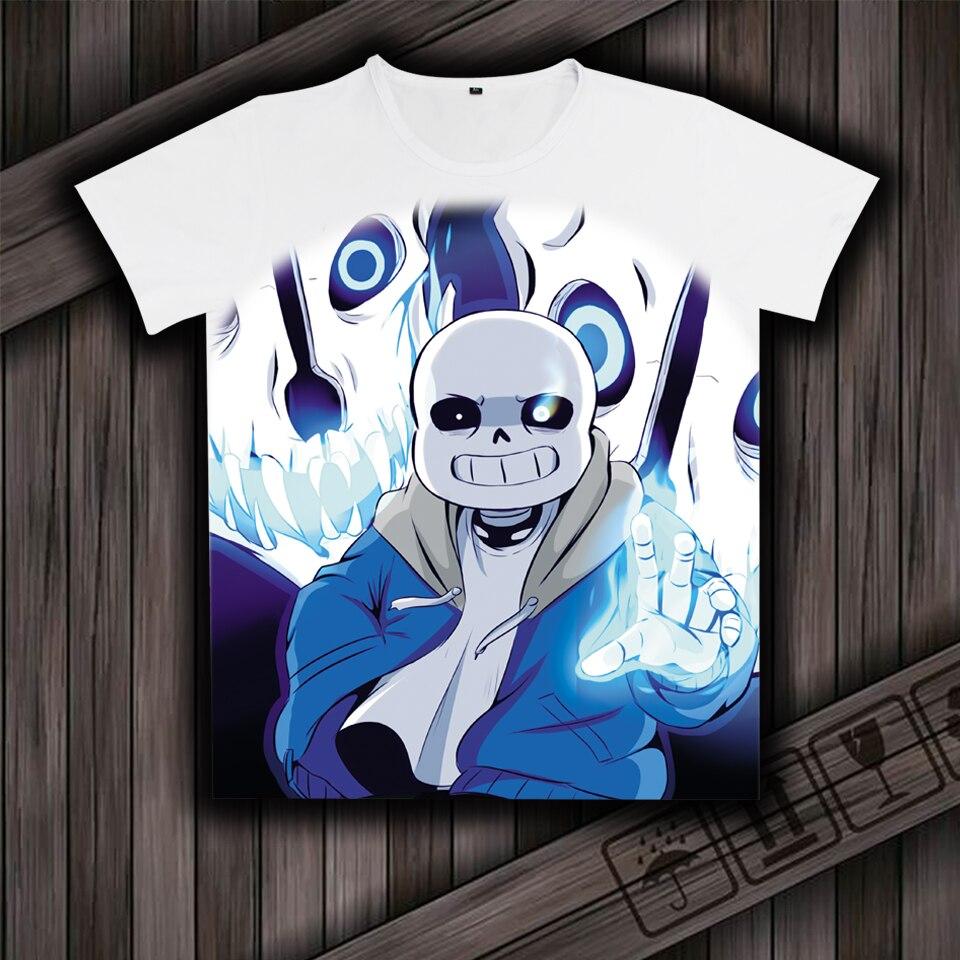 Hot Anime T-shirt Undertale T-shirt Homme Maillots Film Court-1949