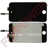 Black Color LCD Screen With Touch Digitizer For Ipod Touch 4 By Free Shipping 100 New