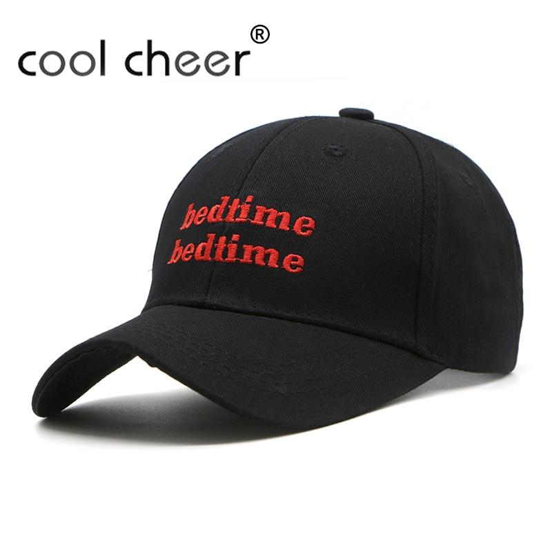 Coolcheer  nueva moda Bordado gorra de béisbol carta hip hop gorra plana  para los hombres y las mujeres casquette hueso marca 6e40fb96687
