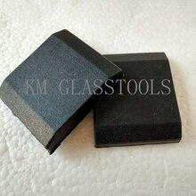 50 шт. резиновая прокладка для конвейера, для китайская машина для обработки края стекла, Стекло пространство частей цепи