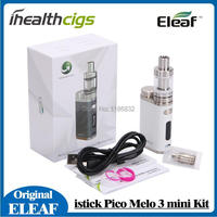 100 Original Eleaf IStick Pico Kit 75W With MELO III Mini Tank 2ml With VW Bypass