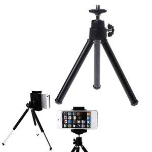 Image 3 - Черный/Белый Универсальный портативный мини штатив, держатель для камеры Canon, Nikon, видеокамеры, Новинка