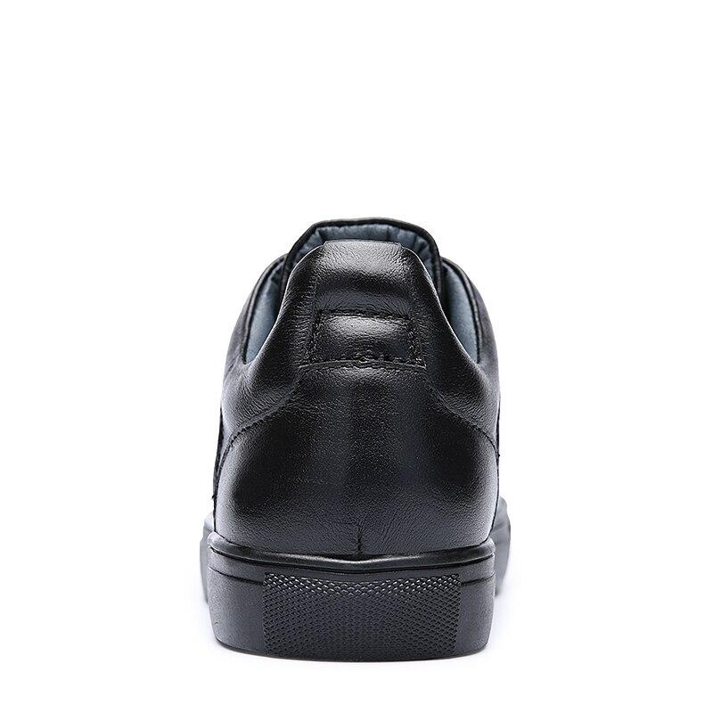 Taille Grande Qualité D'hiver Black Hommes 20171m 48 En Black Mocassins 20171m Loisirs Chaussures Casual Plush M 20171 Marque Chaud Peluche Dentelle Véritable up Cuir wO0pYw