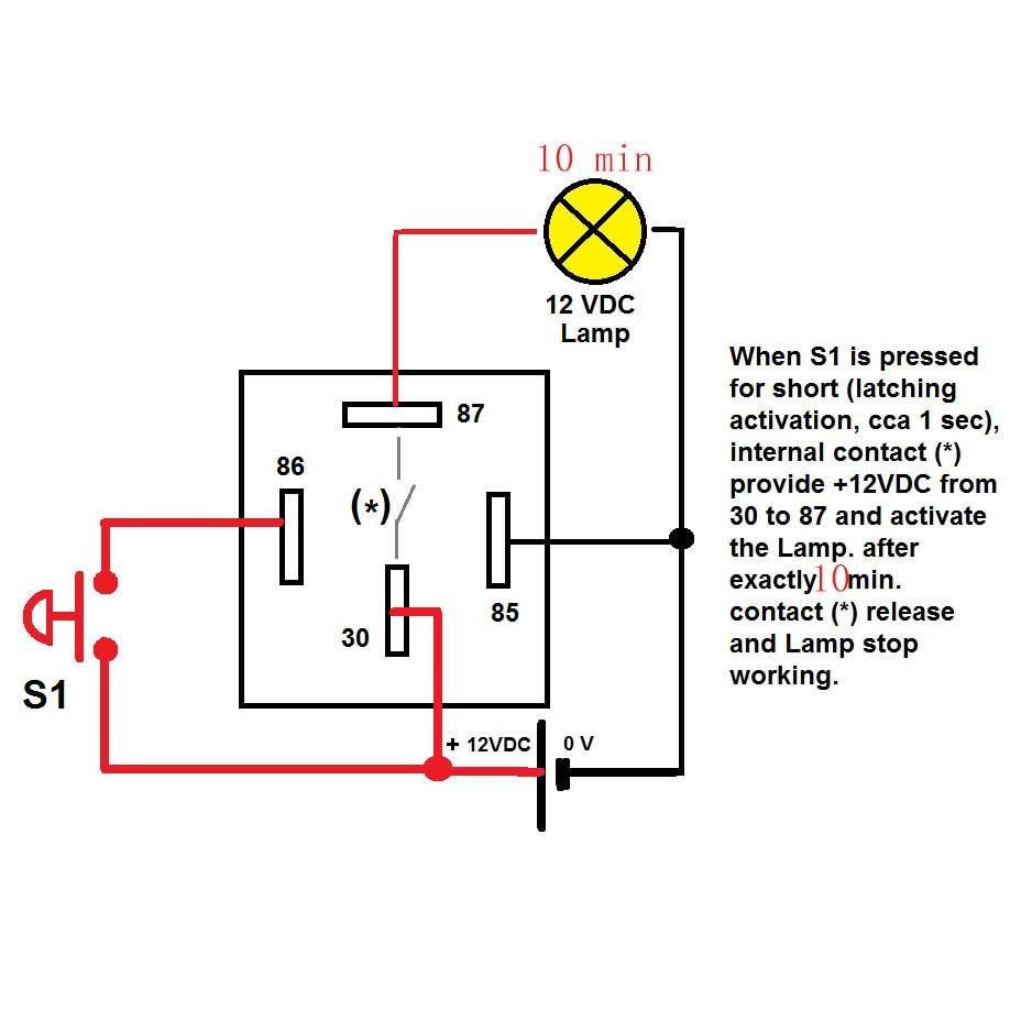 12v Timer Delay Relay Circuit Diagram Electrical Wiring Diagrams Radio U2022 Fuse