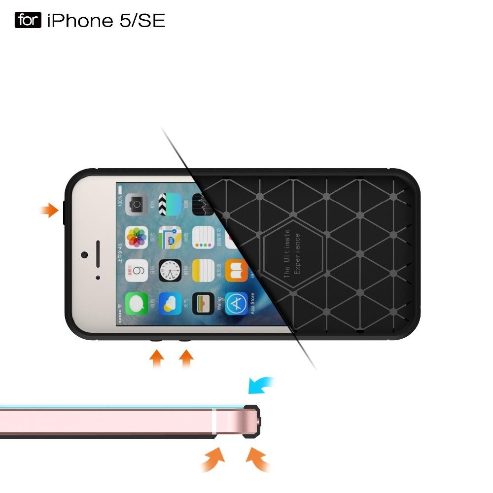 Ծածկոցներ iphone 5s- ի համար 6 6s 6s 7 Plus - Բջջային հեռախոսի պարագաներ և պահեստամասեր - Լուսանկար 3