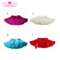 Sisiprincess New 2015 Hot 21 Colors Vintage Dusty Pink Silver Gray Baby Girl Fluffy Pettiskirt Girls