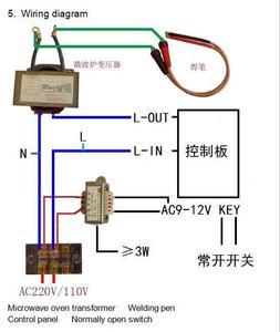 Image 5 - 100A / 40A 12864 display LCD Digitale Doppio Encoder a Impulsi Spot Saldatore Saldatura Trasformatore Della Macchina Scheda di Controllo di Controllo del Tempo