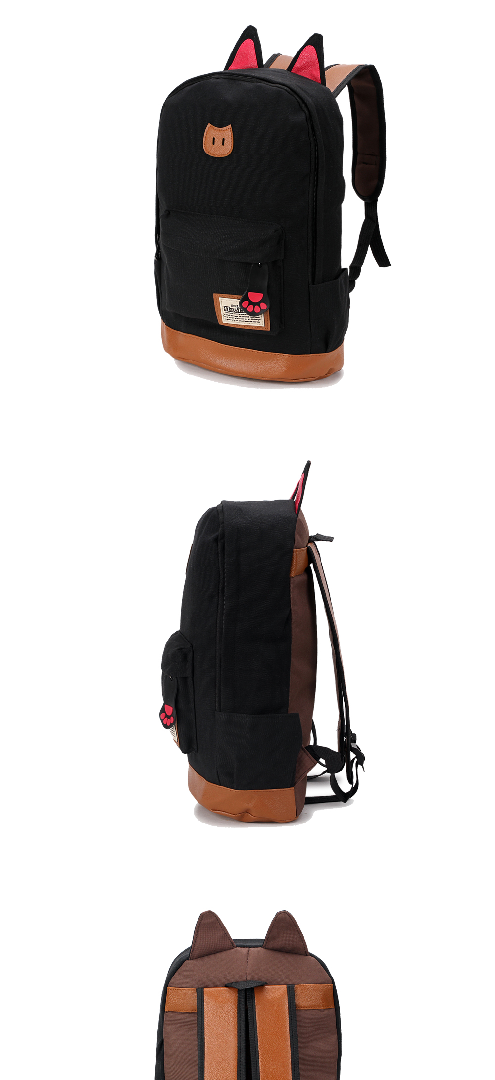 Cat Ears Student Backpack