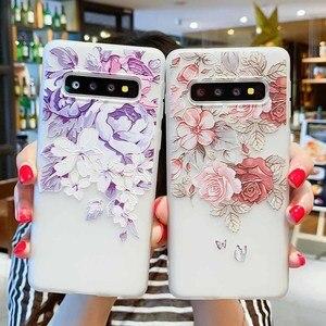 Image 2 - Чехол для Samsung Galaxy S10 M10 M20 A30 A50 A7 A8 A6 J4 J6 EU Edition 2018 S8 S9 S10 J3 J5 J7 A3 A5 A7 2017 S10 Lite Flower Case