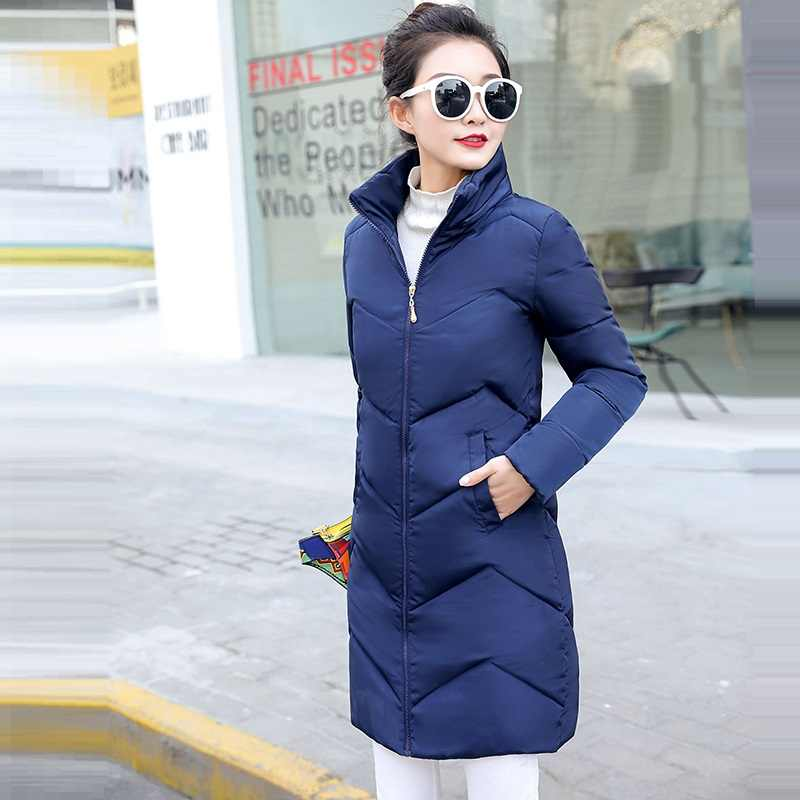 Sıcak kadın Trençkot Sonbahar Kalın Dış Giyim Kış Ceket kadın Artı boyutu 6XL Palto Kadın Casual Uzun Ceket Fermuar cep