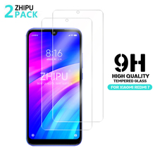 2 Pcs Tempered Glass For Xiaomi Redmi 7 8A 7A Screen Protector 2.5D 9H Protective Film