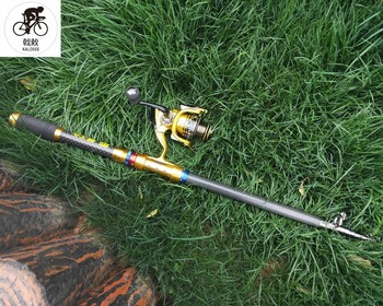 Best Price  fish fishing rod   fishing rod reel   2.12.43.03.6m  hard rods    fishing rod  with 4000 reel