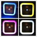 GT-Lite Más Nuevo Luz de Noche LED Con Control de Sensor de Luz Automático Para hogar de interior iluminación del arte en blanco amarillo azul rojo ac220v ue/us