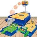 Mini Baloncesto/Fútbol/Bolos de Escritorio/Oficina de Juguete Juego de La Familia de Crianza Creativa Desarrollar Bebé Niños matan y Acción aficiones