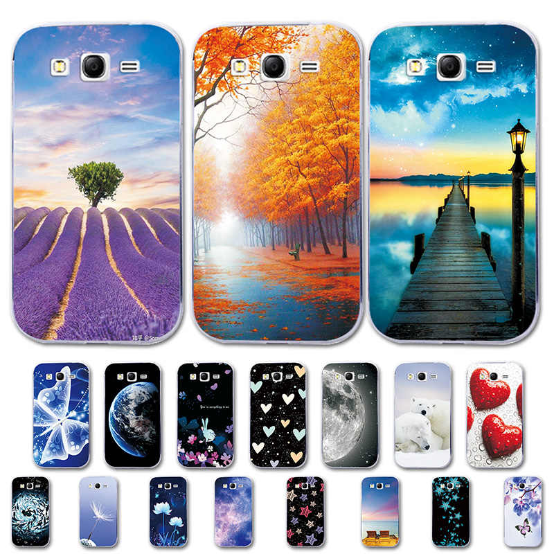 Phone Case For Samsung Galaxy Core 2 Duos G355H Prime G3608 Love Heart Cover For Samsung Alpha G850F Case on Grand Duos GT i9060
