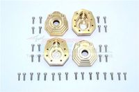 Brass Outer Portal Drive Housing Front And Rear Heavy Edition For