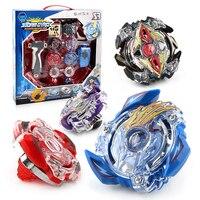 Original Package 1Set Beyblade Burst Fusion 4D Launcher Beyblade Spinning Top Set Kids Game Toys Children