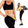 Suor quente Neoprene Cincher Cinturão Shapers Emagrecimento Calças Coxa Calças de Ginástica Do Esporte para As Mulheres
