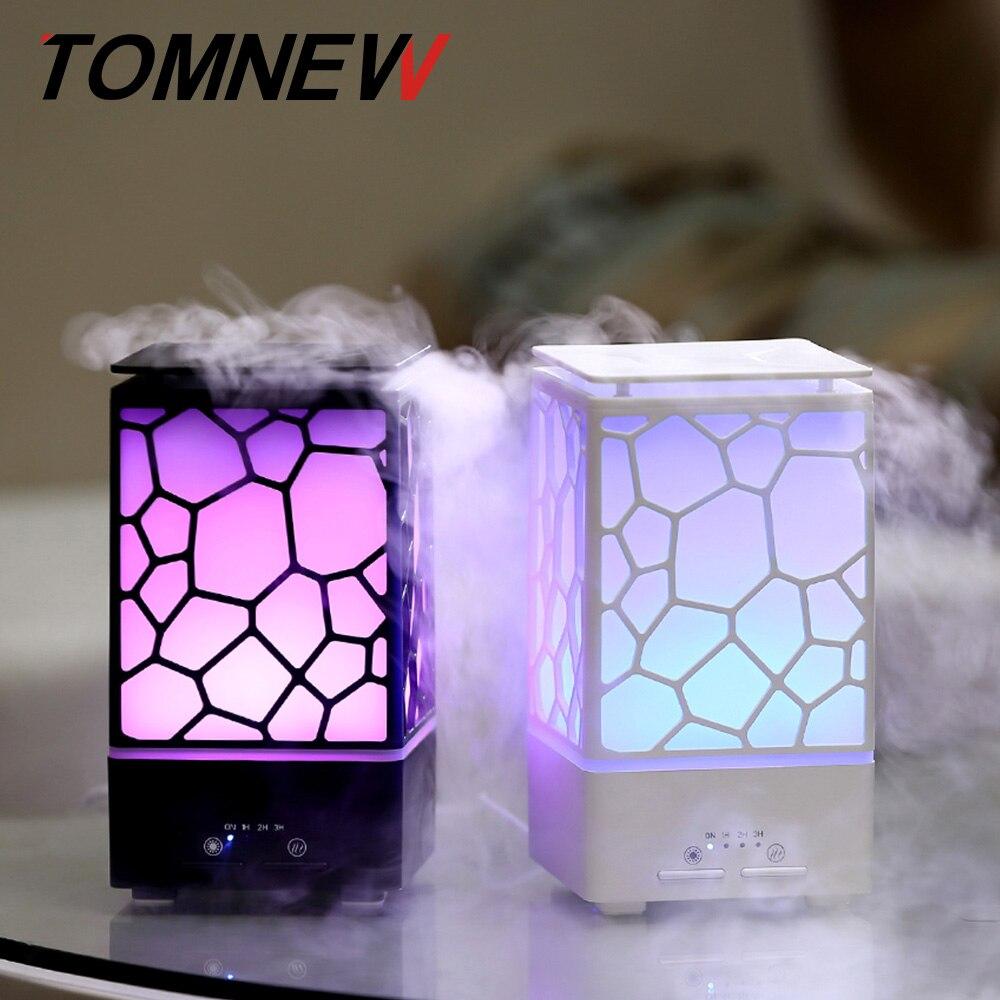 TOMNEW эфирные масла диффузор 200 мл аромат ультразвуковой ароматерапия увлажнитель прохладный тумана для офис детская комната