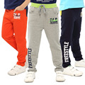 Pantalones de los niños del algodón ocasional pantalones deportivos de impresión de moda los pantalones del bebé 2016 nuevos niños ropa de primavera otoño embroma la ropa