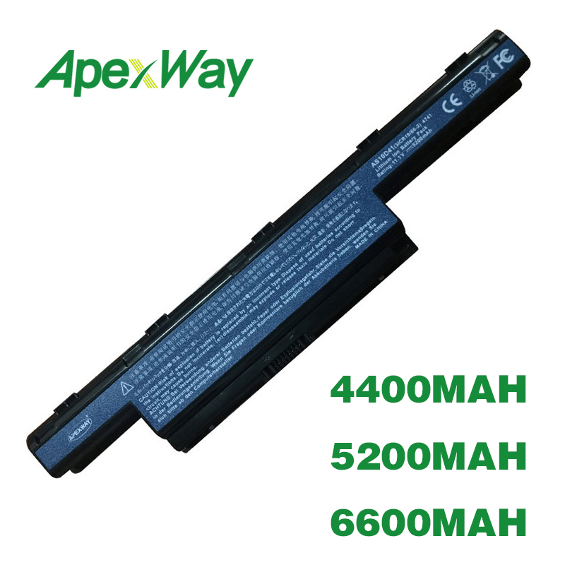 ApexWay Battery AS10D31 AS10D41 AS10D51 AS10D61 AS10D71 AS10D81 AS10G31 for Acer Aspire V3 E1 4741 5750G 5741GApexWay Battery AS10D31 AS10D41 AS10D51 AS10D61 AS10D71 AS10D81 AS10G31 for Acer Aspire V3 E1 4741 5750G 5741G