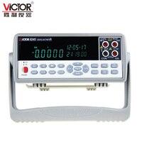 VICTOR VC8245 1/2 В в 4 1000 настольный цифровой мультиметр прецизионный настольный мультиметр multimetro Ture RMS USB тестер цифровой