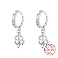 Hot Earrings Fashion Jewelry Awesome Clover Dangle Earring Oorbellen For Women 925 Sterling Silver Filled Chandelier