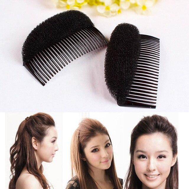 プリンセス髪型髪増加デバイススタイリングツールマジックヘアくしアクセサリー用女性女の子おだんごヘア