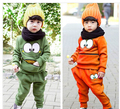 New Children Clothes Set Coat Pants Fit 3-7Yrs Girl Boy Spring Autumn Outwear Trouse Kids Cotton Casual Clothes Set Baby Clothes