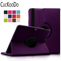 TOP QUALITY PU Leather 360 Rotating Stand Case Cover For Samsung Galaxy Tab 4 10 1