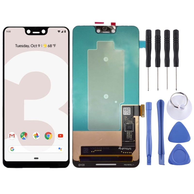 High Quality LCD Screen and Digitizer Full Assembly Lcd Replacement Glass For Google Pixel 3 XL