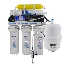6-этап Жилых под раковиной обратного осмоса питьевой воды система фильтрации с реминерализации фильтр-50GPD