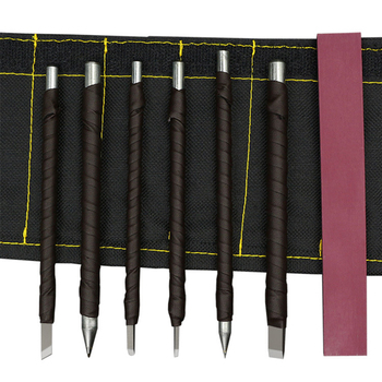 7 Pcs/set Stone Carving Knife Tool Set Multi function Tungsten Carbide Woodworking Graver Hand Tools for Carving Enthusiasts|Chisel|Tools -