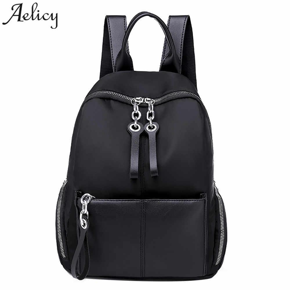 87e96ce58ba Aelicy women Backpack Casual Oxford Cloth girls school bag Simple Large  Capacity Lady Backpack mochila feminina